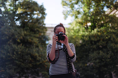 girl with camera by andrea-ioana