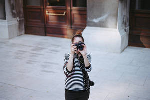 girl with camera ii