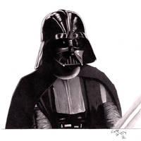 Darth Vader by rolandflagg
