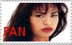 Selena fan stamp by DNA-inkergurl