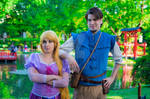 Rapunzel and Flynn by Paper-Doll89