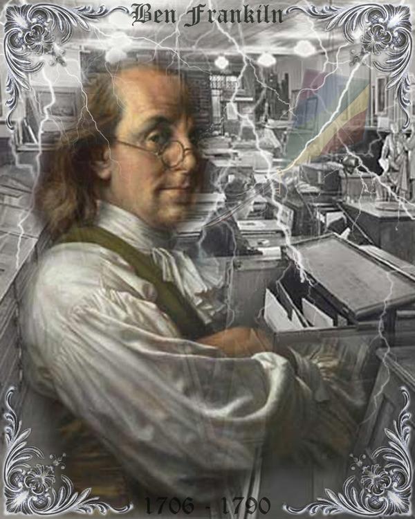 Benjamin Franklin by kingdehart