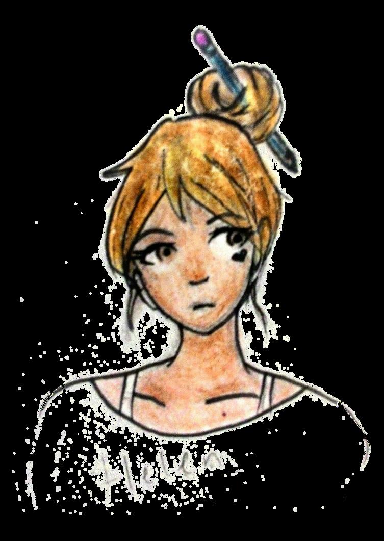 Hikari [Helen] (Danganronpa OC) by TaikaJameson