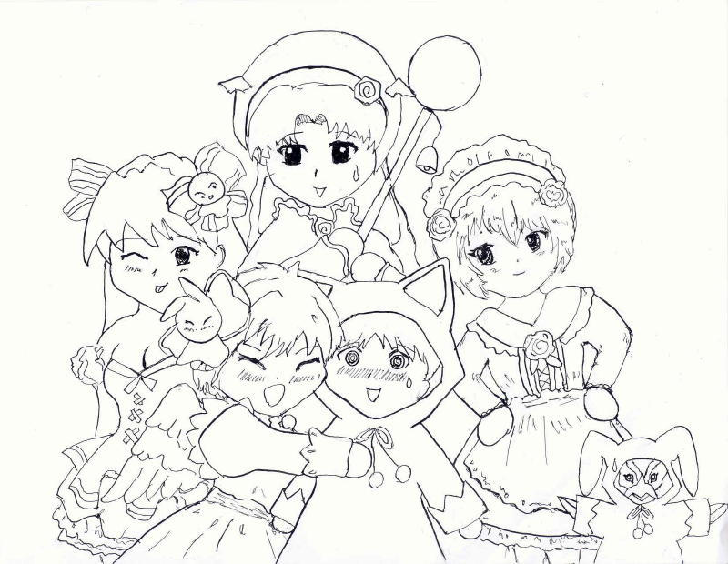 pita ten coloring pages - photo#5