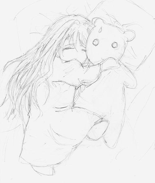 Ayame Sketch By DirectorJ On DeviantArt