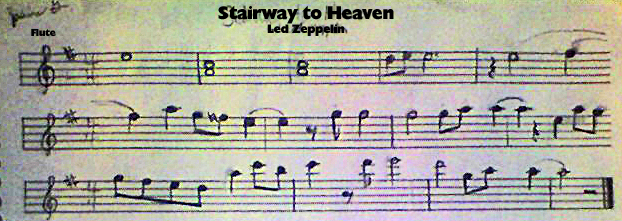 Stairway To Heaven Flute Solo By Jazzyjazz74 On Deviantart