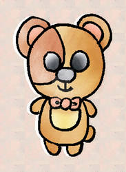Original Character: Tiny Bear
