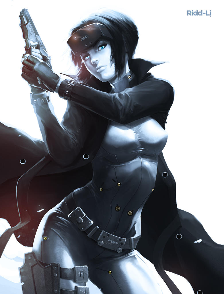 Motoko by Ridd-Li