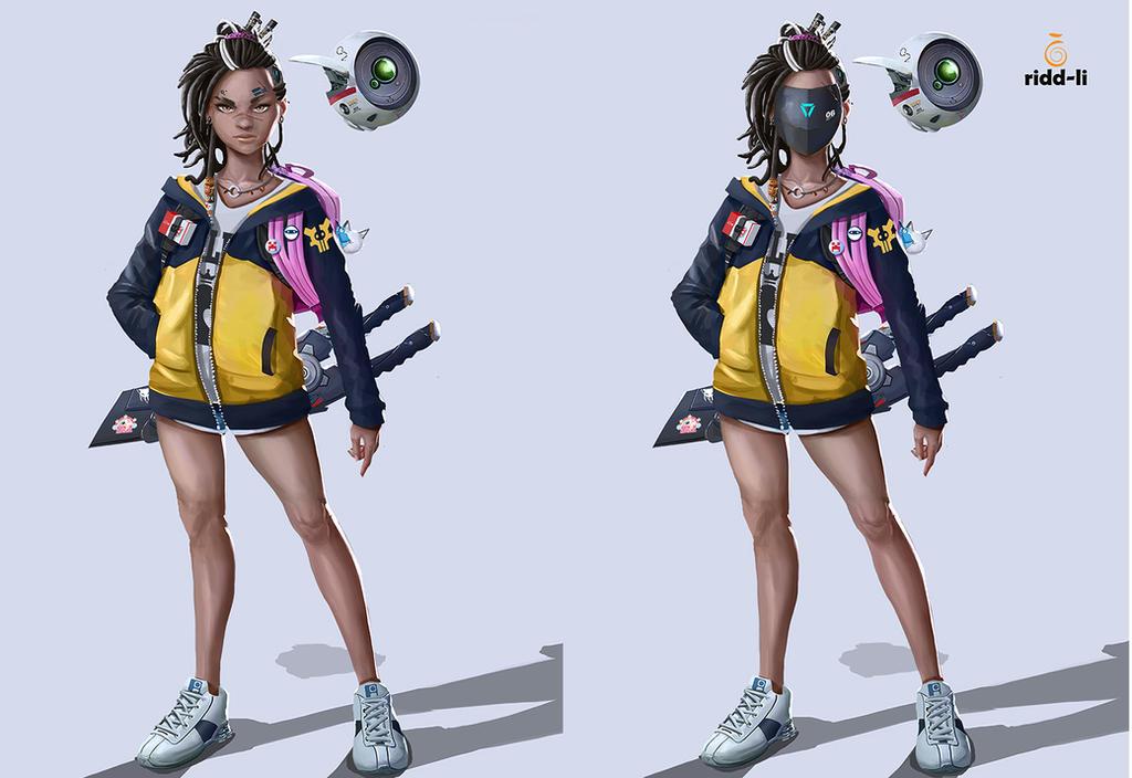 SIX and FREE Concept 1 Final version. I swear. by Ridd-Li