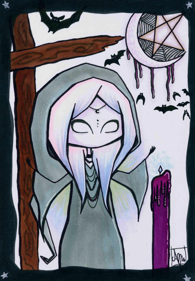 Voodoo Witch by SecondVoiceArt