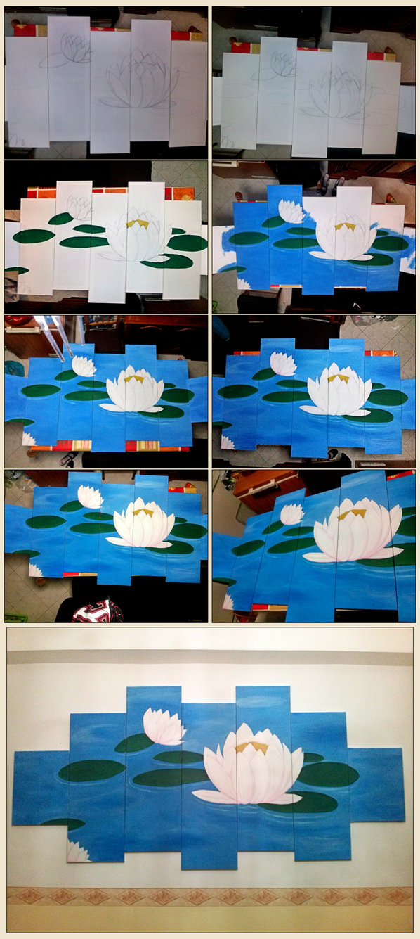 Lotus step by step by xFeajix