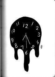 Inktober 2018: Clock by xFeajix