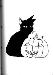 Inktober 2018: Halloween by xFeajix