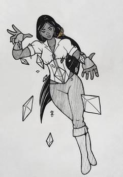 Veneris Ink 2020: Crystal witch