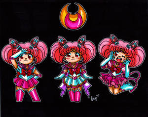 Sailor Chibi Moon 2017 Chibis