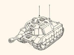 tank destroyer 120mm - obk-121 borzoi