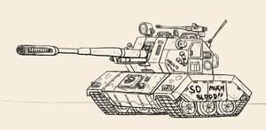 183mm tank destroyer - Aardvreck