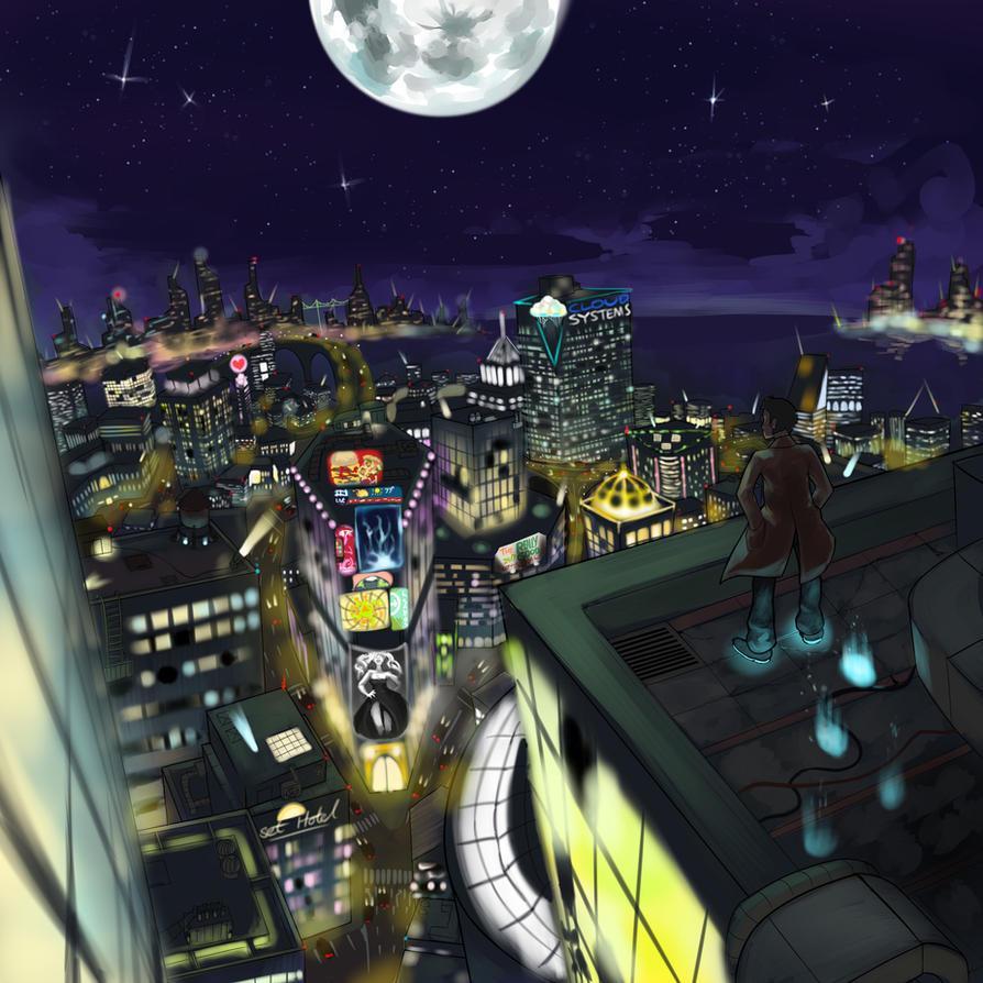 midnight walk by Triple-Q