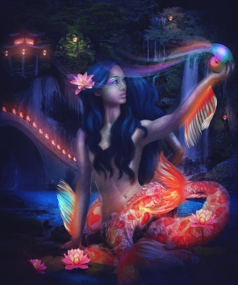 Song of koi pond by mari na on deviantart for Koi pond music