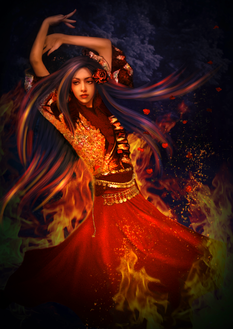 gypsy night by mari na on deviantart