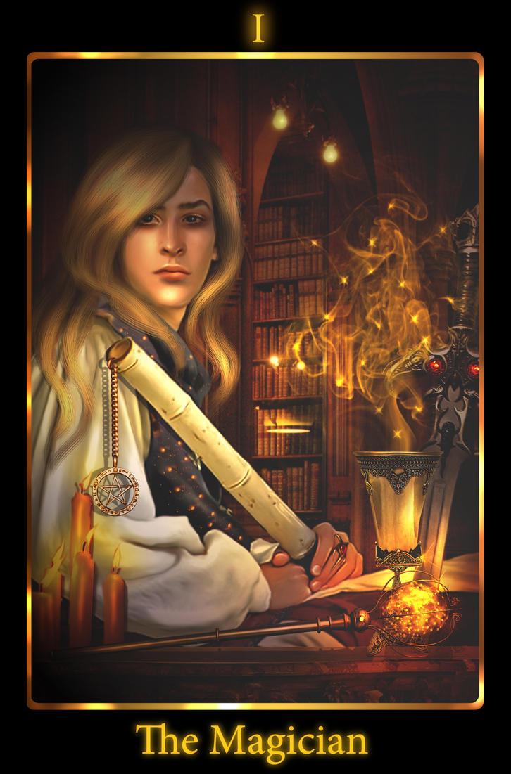 The Magician. Tarot By Mari-na On DeviantArt
