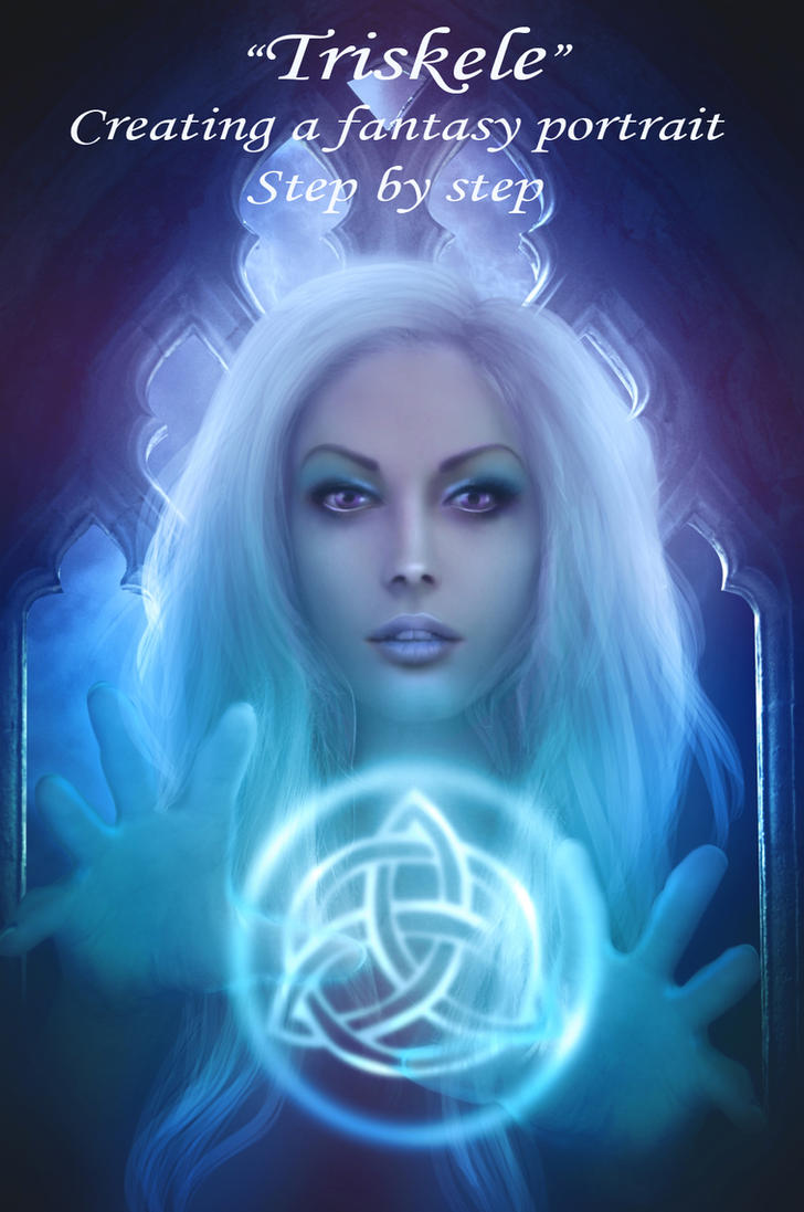 Creating a fantasy portrait by mari-na
