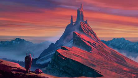 Castle in the Sky by Marrazki