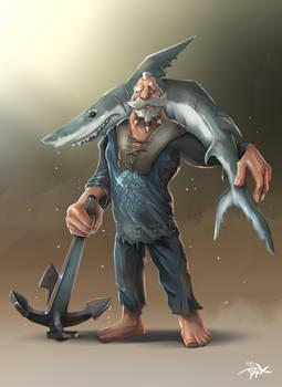 Basque Fisherman
