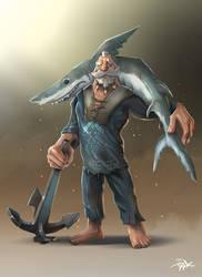 Basque Fisherman by Marrazki