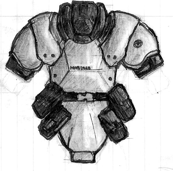 TRF Marine armor by Great-5