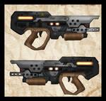 I4-B35 Heavy Energy Pistol