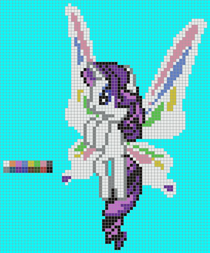 My Little Pony Pixel Art Templates Easy