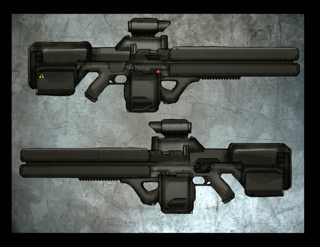 Contest Entry: Man-Portable Railgun by Great-5 on DeviantArt