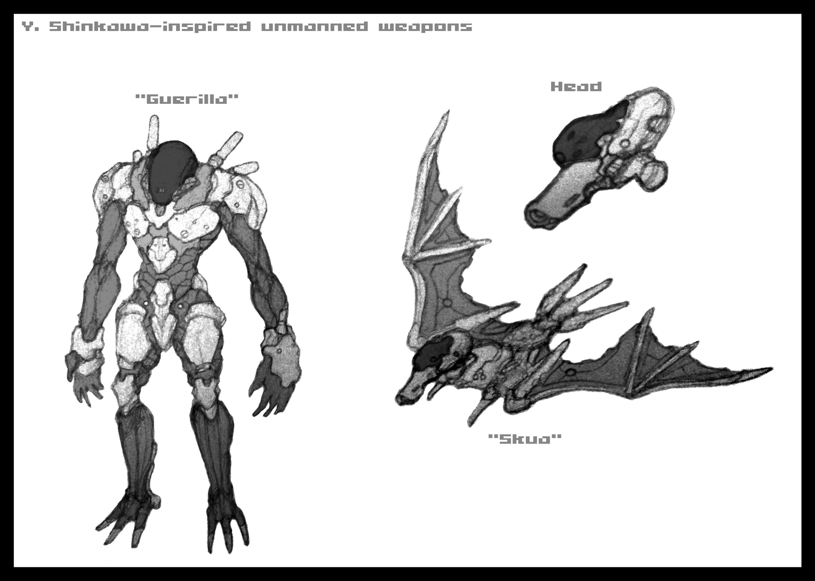 unmanned weapons by great