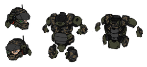 USG Marine armor studies - Phase II by Great-5