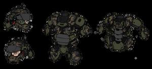 USG Marine armor studies - Phase II