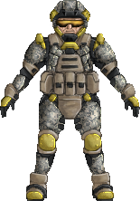 hi-res sprite test - some soldier guy by Great-5