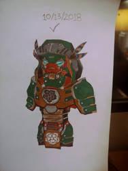 Traditional Kyrdan Knight 1 by Great-5