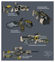 Zechite Weapons 1 by Great-5