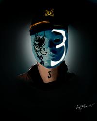 Johnny 3 Tears-Hollywood Undead-Digital painting