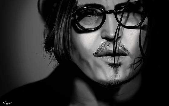 Johnny Depp - Digital Painting
