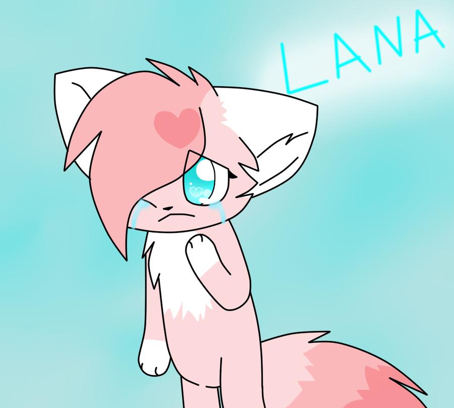 Lana's tears by MillyTheTigerKitten