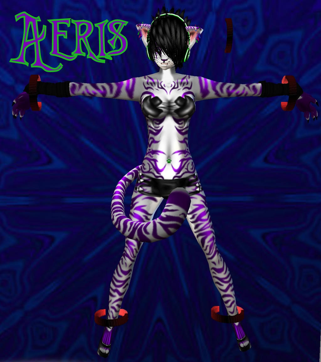 Slave Aeris by Dragoliza