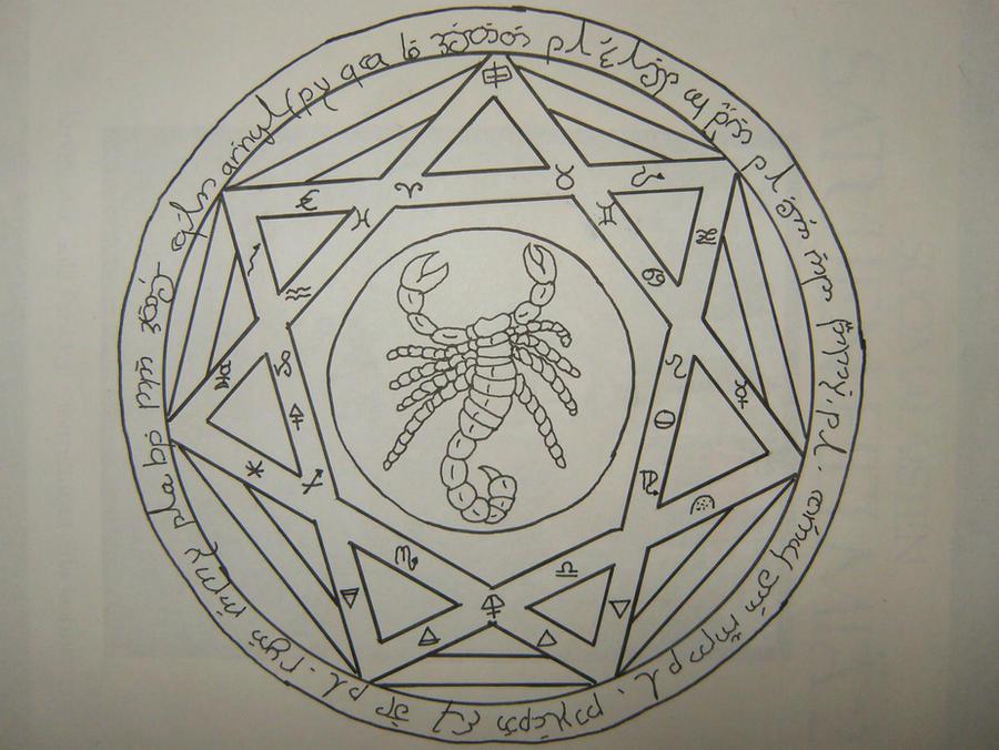 Supernatural - Heptagram by LittleMayuliini
