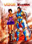 Wildcat and Maximus by miycko