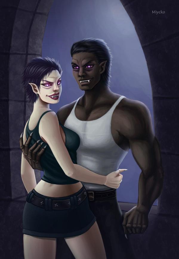 Vampires by miycko