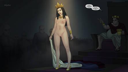 A Queen's Duty! by miycko