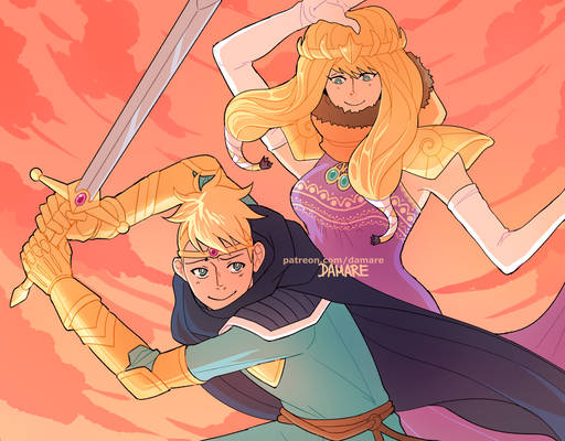 Princess Kenny x Paladin Butters