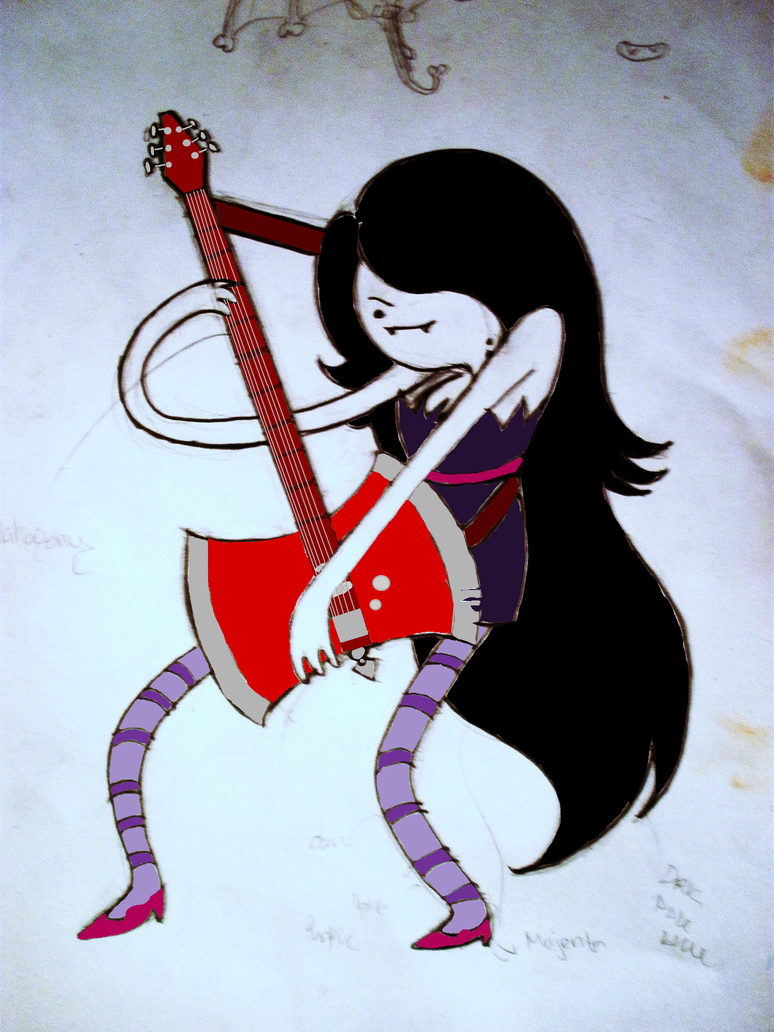 marceline the vampire queen by hearts4brenda