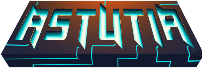 AstutiaMC - Minecraft Server Logo (Text Only)
